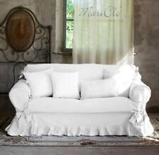 Blanc Mariclò Copri Divano Shabby due posti colore Bianco