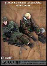 Evolution miniatures 1/35 #35130 WWII German SS machine artilleurs 1944-45