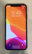 TESTED CDMA + GSM UNLOCKED VERIZON APPLE iPhone X, 64GB A1865 MQCK2LL/A T60P