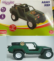 Funskool Hasbro 1982 G I Joe Military Army Jeep Green Vamp Giggles Variant MISB