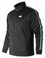 New Balance Men's NB Athletics Track Jacket Black