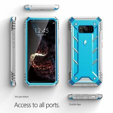 [10pcs/lot] For Galaxy S8 Poetic Revolution Case Rugged Shockproof Cover Blue