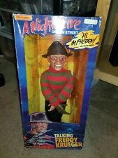 1989 Talking Freddy Krueger doll MATCHBOX Nightmare on Elm St