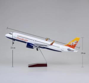 "Bhutan Airbus A320 NEO 1:150 Aircraft Diecast Plane Model 18"" Pilot Gift"