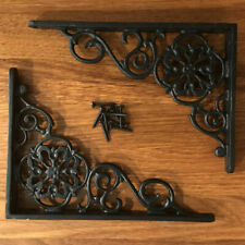 Cast Iron Pennsylvania Dutch Shelf Brackets (Pair)
