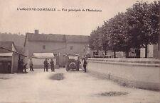 MEUSE - L'ARGONNE - DOMBASLE - VUE PRINCIPALE DE L'AMBULANCE - CARTE NEUVE.