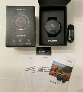 Suunto 9 BARO Titanium Sapphire GPS HR Smart Watch MINT CONDITION
