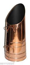 Copper Coal Hod Coal Bucket Log Holder Fireside Accessories Coal Scuttle Scoop