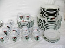 Gibson Christmas & Winter Table Dinner Service Sets Pieces | eBay