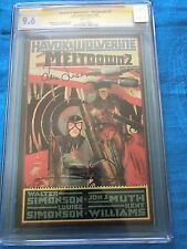 Havok & Wolverine Meltdown #2 - CGC SS 9.6 NM+ - Signed by W & L by Simonson
