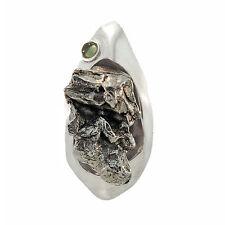 New Starborn Creations Sterling Silver Campo de Cielo Meteorite Pendant EP0011