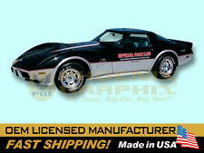1978 Chevrolet Corvette Indy 500 Pace Car Decals & Stripes Kit