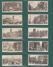 NOSTALGIA CLASSICS - SET OF 25 - KUIT ' PRINCIPAL  BRITISH  STREETS ' CARDS