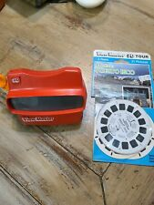 Vintage 3D VIEW-MASTER Red Viewer for Stereo & 3 Dimensional Reels Puerto Rico
