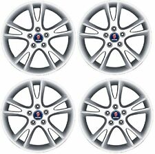 "GENUINE SAAB 9-3/9-5 2003-2012 ALLOY WHEELS X4 7.5"" x 17"" - BRAND NEW 12757104"