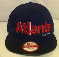 Brand new Atlanta Braves  A-Frame New Era 9Fifty snapback cap  small-medium