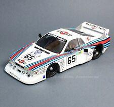 Spark 18S160 1981 Lancia Beta Monte Carlo #65 Martini Racing Le Mans 1:18 Scale