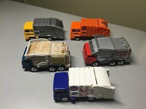 Matchbox Refuse Garbage Truck Lot