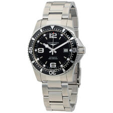 Longines HydroConquest Black Dial Automatic Mens Watch L3.742.4.56.6