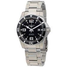 Longines HydroConquest Black Dial Automatic Mens Watch L3.742.4.56.6