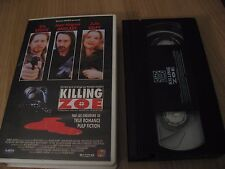 KILLING ZOE vhs ERIC STOLTZ JEAN HUGUES ANGLADE JULIE DELPY
