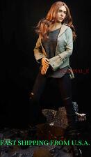 1/6 Elizabeth Olsen Scarlet Witch Clothing Set For Hot Toys Phicen Figure ❶USA❶
