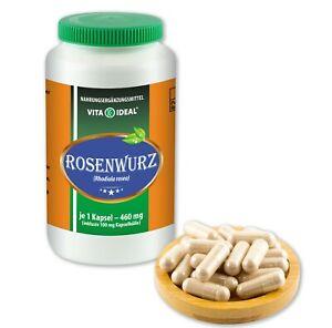 VITA IDEAL® Rosenwurz Kapseln je 460mg ohne Zusatzstoffe