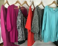Lot Of 6 Old Navy Womens Blouse Tops Multi Color Sleeves Plus Size XXL