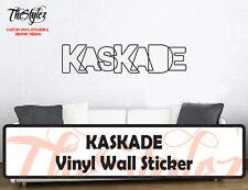 KASKADE Custom Vinyl Wall Sticker