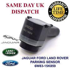 4 x Ford Jaguar Land Rover Delantero y Trasero PDC Sensor de aparcamiento 6W83-15K859