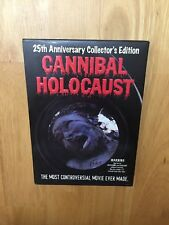 CANNIBAL HOLOCAUST DVD W/S 2 DISC SLIPCOVER 25TH ANNIV COLLECTOR'S EDITION #