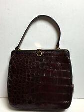 Vintage 1960's Bellestone Alligator Kelly Style Purse/Handbag