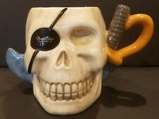 Agiftcorp Pirate Stein Hook And Eye Patch 5 Inches Tall