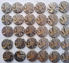 Mechanisms watch parts movements Russian Set 30pcs 25mm steampunk art  DIY