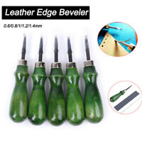 1 pcs Leather Edge Beveler Skiving Craft Tool Set for Handwork Leather Tool DIY