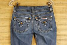 WOMENS HUDSON JEANS SIZE 26X27   GOOD PREOWNED COND. . BLUE  #750