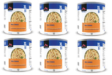 6 # 10 Cans - Rice & Chicken - Mountain House Freeze Dried Emergency Food