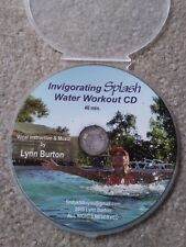 Invigorating Splash Water Aerobic Workout Aqua Exercise CD NEW aquatic fitness