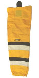 "Reebok Hockey SX100 Boston Bruin Sock Gold Intermediate-26"""
