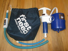 First Need Drinking Water Filtration Purification System