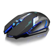Rechargeable Wireless 1600DPI Gaming Mouse 2.4G Battery Gamer 6 Buttons Mice Pro