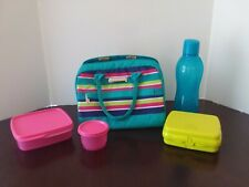 Tupperware Great Lunch Set with Carry Bag st
