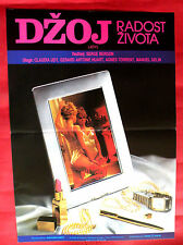 JOY 1983 FRENCH SEXY CLAUDIA UDY AGNES TORRENT GERARD A.HUART EXYU MOVIE POSTER