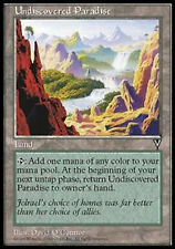 MRM FRENCH Paradis inconnu - Undiscovered Paradise MTG magic VIS