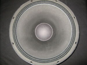 """EAW Eminence 804071 LC-1533 15"""" Woofer - Fresh Recone"""