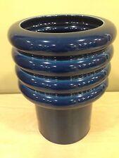 Rosenthal Porcelain Studio Line Cobalt Blue Vase Mid Century Modernist