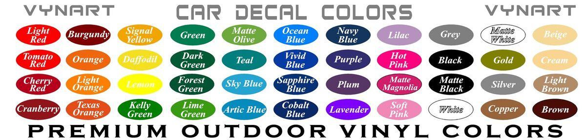 VynArt Vinyl Decals