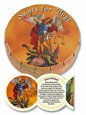 Saints for Boys Prayer Folder in Tin Case NEW SKU PD322