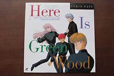"LD Laserdisc ""Here Is Green Wood Vol.1 Koko wa Green Wood"" Anime [SRLW-1385] F/S"