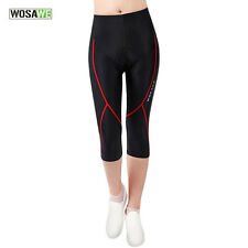 Women Cycling Shorts Pants Lycra 3D Padded Ladies Bike Bicycle Pant Clothing